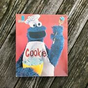 Vintage Mb Cookie Monster Puzzle - Complete Sesame Street 24 Piece Jigsaw