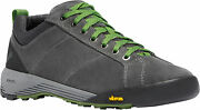 Danner Camp Sherman Mens Gray/green Leather 3in Approach Hiking Shoes