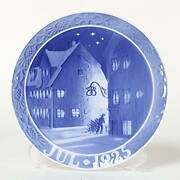 Royal Copenhagen Year Plate Christianhaunand039s Old House Northern Europe