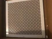 Air Return Vent Cover Grille 20 X 20 Duct Size White Wall Sidewall Ceiling
