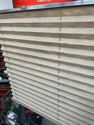 """Made In Usa Rv Camper Rv Pleated Blind Shades Cappuccino 59 X 31"""" New In Box"""