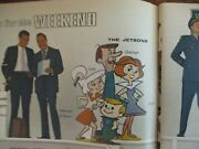 1962 Fall Preview Tv Guidethe Jetsons/combat/lucy/the Virginian/mchaleand039s Navy