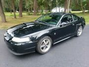 2003 Ford Mustang Mach 1 2003 Ford Mustang Coupe Black Rwd Automatic Mach 1