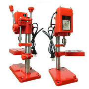110v Portable Stepless Bench Pillar Drill Press For Metal Circuit Board Jewelry