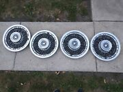 Used Oem Gm 15 Wire Hub Caps Set Of 4 01232041 1969-1970 Buick Electraw271