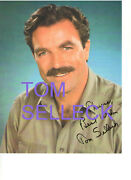 Tom Selleck Blue Blood Genuine Hand-signed Autograph 8x10 Photo With Inscription