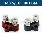 Bus Bar Boat Car Electrical Junction 8mm Wire Terminal Stud Positive 5/16