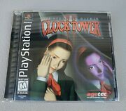 Clock Tower 2 The Struggle Within Ps1 Complete With Registration Card Manual