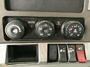 2018 Kenworth T680 Heater And Ac Temp Control 3 Knobs 5 Buttons
