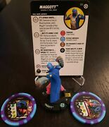 Heroclix Maggott 051 W/ Eany And Meany Tokens - Super Rare House Of X Hox