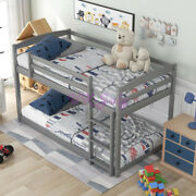 Wooden Double Bed With Ladder, Space-saving Design