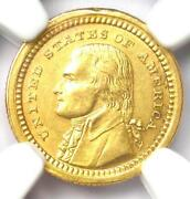 1903 Jefferson Commemorative Gold Dollar Coin G1 - Certified Ngc Au Detail