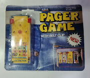Vintage 80s Pager Game Made In Hong Kong New In Card Unopened