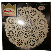 1950andrsquos New Roylies 39-6 Inch Paper Doilies