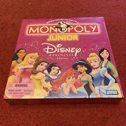 Brand New Monopoly Junior Disney Princess Edition Ages 5 To 8 2 To 4 Players