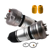 Front X2 Air Airmatic Suspension Spring Bags For Porsche Panamera Front L/r