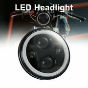 5.75 5 3/4 Led Headlight Hi-lo Projector Drl For Harley David-son Dyna Sportster