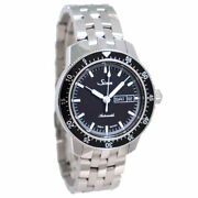 Sinn 104.st.sa Automatic Pilot Watch Menand039s Black Stainless Ss Day-date