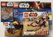 New Sealed Lego Star Wars Sets 7961 75102 8092 And 9496