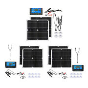 50 Watt Solar Panel Kit With Usb Port Off Grid System Pv Module For Camping