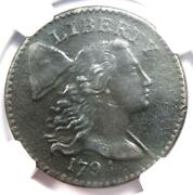 1794 Liberty Cap Large Cent 1c S-54 Coin - Certified Ngc Au Details - Rare Coin