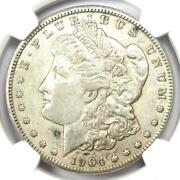 1904-s Morgan Silver Dollar 1 Coin - Certified Ngc Au50 - Rare Date
