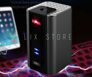 Bluetooth Virtual Laser Keyboard Wireless Projection Mini Portable For Phone