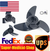3-blades Outboard Propeller Electric Trolling Motor Power Prop Kit W/ Wrench New