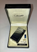 Colibri Sst Quantum Cigar Lighter And Cutter Not Working With Case And Manual