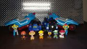Nickelodeon Paw Patrol Mighty Twin Pups Power Split Vehicle + Whole Gang And More