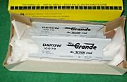 Ramax Ho Scale Rio Grande 37and039 Acf 2 Bay Covered Hopper Kit - Ccho581