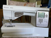 Husqvarna Viking Topaz 20 Embroidery Machine Low Use Includes Embroidery Case.