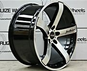 Alloy Wheels 20 Cruize Blade Bp Staggered Deep Concave Black Polished 20 Inch