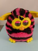 Furby Boom 2012 Electronic Interactive Toy Pink And Black Stripe Works