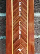 Vintage Northland And039pro Compand039 Slalom Water Ski Featuring Rich Inlaid Wood 68