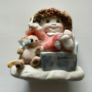 Vintage Dreamsicles Figurine 1994 Open Me First By Cast Art Industries Rare Euc