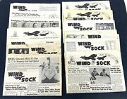1956-57 Us Marine Corps Air Station Cherry Point The Wind Sock Base Newspaper