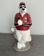 Coca-cola Tim Wolfe Dale Earnhardt 3 Racing Big E First Edition Sculpture 147