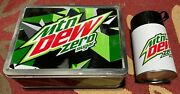 Mountain Dew Zero Sugar Lunchbox With Gizmo/gremlins T-shirt L Collectors Item