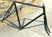 Vintage 70's Raleigh Professional /unknown Road Frame Fork 60cm Zeus Campagnolo