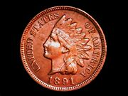 1891 Indian Head Red Cent Possible Fs101 Ddo See Youtube Video H9