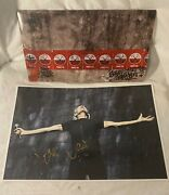 Roger Waters Signed 11x14 And 2012 The Wall Tour Program