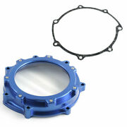 Aluminum Clutch Cover With Gasket For Yamaha Yfz450 Yfz 450r 2006-2020 Blue New