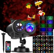 Projector Lights Outdoor For Halloween Christmas Holiday Light Show With Remote