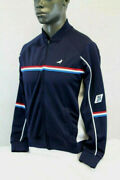Staple Pigeon Trifecta Track Jacket Navy Blue/red/white 1809o4941