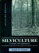 Silviculture Concepts And Applications Pb 2014 By Ralph D. Nyland Brand New