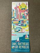 Dave Matthews - Chicago 06.11.2017 Anime Monster Poster, Dave And Tim