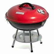 Cuisinart Ccg190rb 14 Inch Portable Charcoal Grill - Red