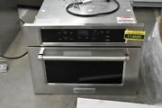 Kitchenaid Kmbs104ess 24 Stainless Built-in Microwave Nob 114686