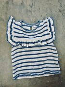 Oeuf Knit Sweater With Ruffle Detail Size 4yrs Girls